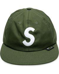 Supreme Cordura S Logo 6-panel Cap - Green