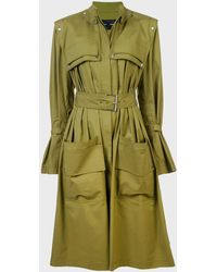 Proenza Schouler Belted Trench Coat - Brown
