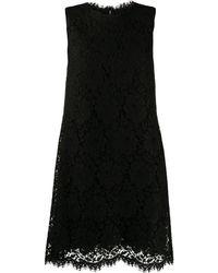 Dolce & Gabbana - Кружевное Платье-трапеция - Lyst