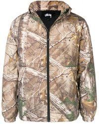 Stussy Forest Print Jacket - Meerkleurig