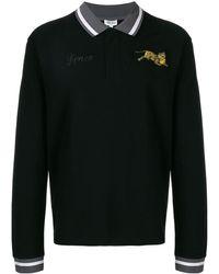 KENZO Tiger ポロシャツ - ブラック