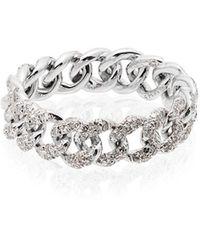 SHAY - ダイヤモンドリング 18kホワイトゴールド - Lyst