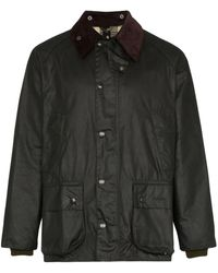 Barbour Bedale ワックスジャケット - ブラック