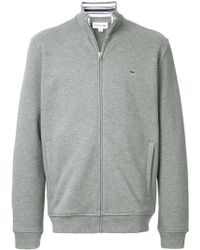 Lacoste - Embroidered Logo Jumper - Lyst