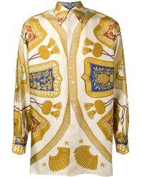 Hermès Рубашка 1990-х Годов Pre-owned - Металлик