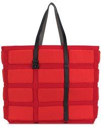 Carmina Campus   Lifejacketlrgumbrellnylon Var.2 Red Leather/fur/exotic Skins->leather   Lyst