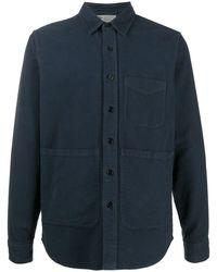 Aspesi - Hemdjacke mit aufgesetzten Taschen - Lyst
