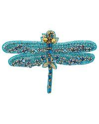 Vivetta Dragonfly Brooch - Blue