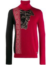 Versace Джемпер С Логотипом - Красный