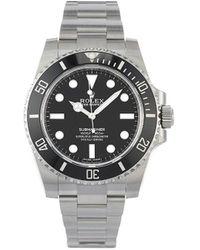 Rolex Pre-owned Submariner Horloge - Zwart
