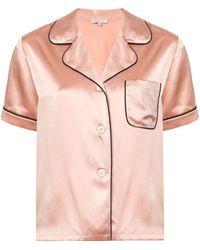 Morgan Lane Fiona Two-piece Pajama Set - Pink