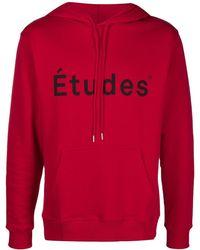 Etudes Studio Худи С Логотипом - Красный