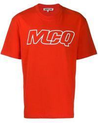 McQ - ロゴ Tシャツ - Lyst