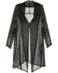 Y's Yohji Yamamoto - Oversized Lightweigh Coat - Lyst