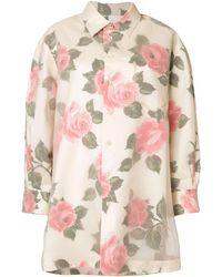 Maison Margiela プリントシャツ - ピンク