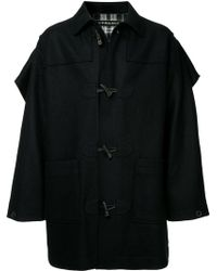 Y. Project - Caped Duffle Coat - Lyst