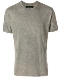 Mr & Mrs Italy - Back-print Speckled T-shirt - Lyst