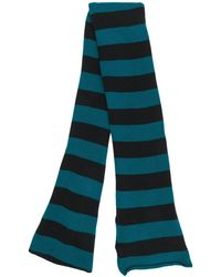 LaDoubleJ - Striped Knit Skinny Scarf - Lyst