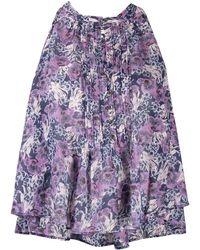 Étoile Isabel Marant Блузка С Цветочным Принтом - Пурпурный