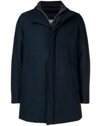 Herno - Padded Zipped Coat - Lyst