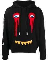 Haculla Embroidered Hoodie - Black