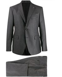 Tagliatore - Pinstriped Two-piece Suit - Lyst