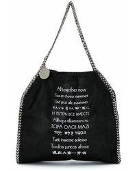 Stella McCartney Bolso shopper Falabella de All Together Now - Negro