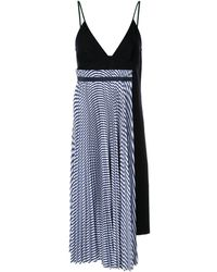 Sacai - Spaghetti Strap Dress - Lyst