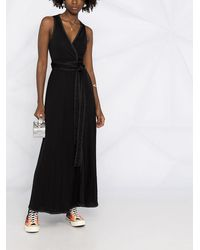 Golden Goose コントラストステッチ ドレス - ブラック