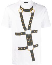 Versace プリント Tシャツ - マルチカラー