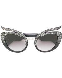 Miu Miu - Swarovski Crystal-embellished Sunglasses - Lyst