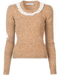 Philosophy Di Lorenzo Serafini Ruffle Sweater - マルチカラー