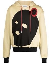 Youths in Balaclava Graphic-print Hoodie - Multicolour