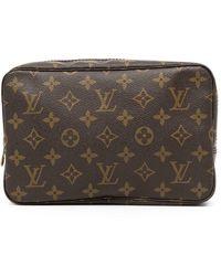Louis Vuitton Клатч Trousse Toilette 23 1981-го Года - Коричневый