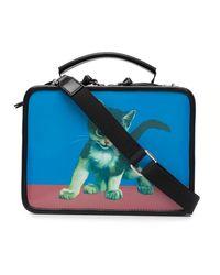 Vivienne Westwood Kitten-print Tote Bag - Blue