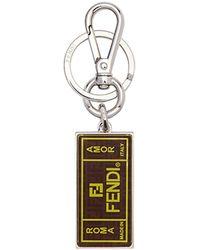 Fendi ロゴ キーホルダー - マルチカラー