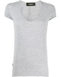 DSquared² - スクープネック Tシャツ - Lyst