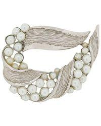 Susan Caplan Spilla Trifari anni '60 - Metallizzato