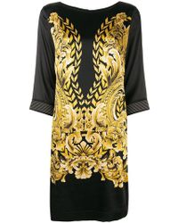 Clips - Printed Shift Dress - Lyst
