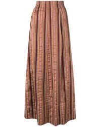 Forte Forte - Striped Skirt - Lyst