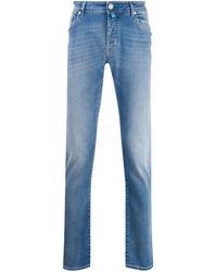Jacob Cohen Jeans a gamba dritta - Blu