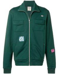 Champion - Sweatshirt mit Reißverschlusstasche - Lyst