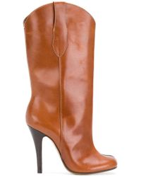 Maison Margiela Western Tabi Boots - Brown