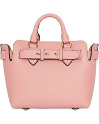 Burberry The Mini Leather Belt Bag - Pink