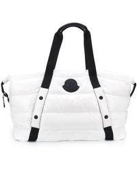 Moncler Maine キルティング ハンドバッグ - ホワイト