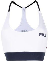 Fila Eylsa Strappy Cropped Sports Top - White