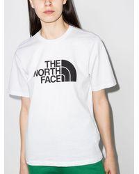 The North Face ロゴ Tシャツ - ホワイト