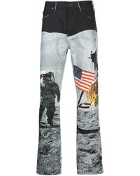 CALVIN KLEIN JEANS EST. 1978 Nasa Print Trousers - Multicolour
