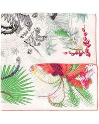 Hermès Pañuelo Mythiques Phoenix Coloriage pre-owned - Blanco