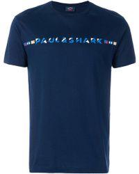 Paul & Shark | Branded T-shirt | Lyst